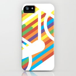 Colorful bicycle 1 iPhone Case