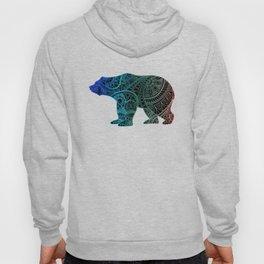 Colorful Rainbow Bear - III Hoody
