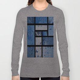 Movin with Pollock, Mondrian & Haring  Long Sleeve T-shirt