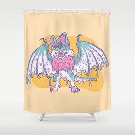 Gooey Gumbat Shower Curtain