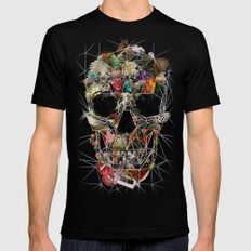 Fragile Skull MEDIUM Mens Fitted Tee Black