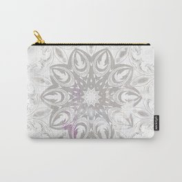 ligh colored lace Carry-All Pouch