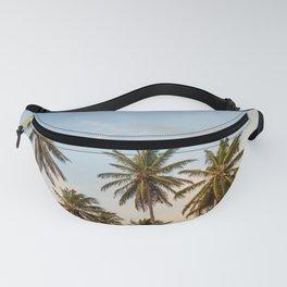 Sky beach palmier Fanny Pack
