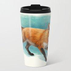 Fox walk Metal Travel Mug