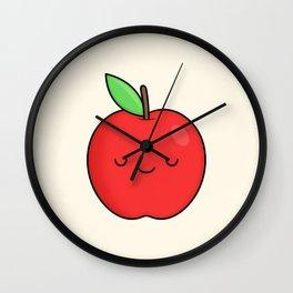 Cute Apple Wall Clock