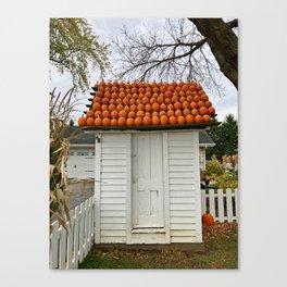 The Pumpkin House Canvas Print
