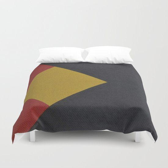 Geometric Thoughts 4 Duvet Cover