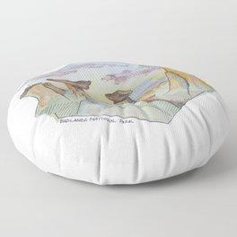 The Badlands Floor Pillow