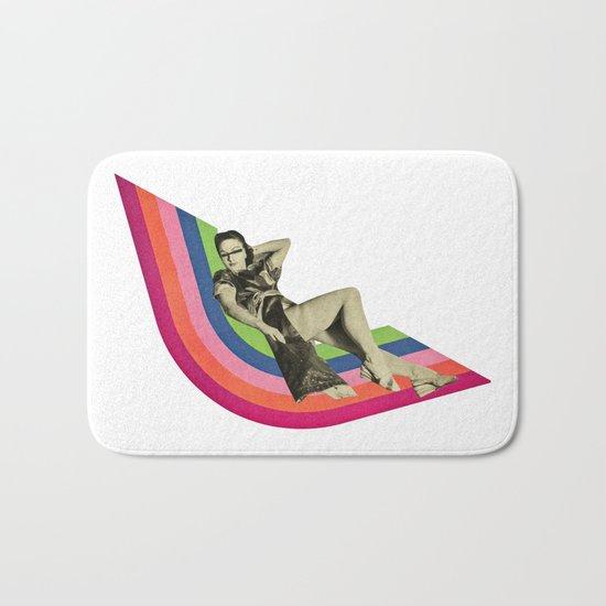 Ride the Rainbow Bath Mat