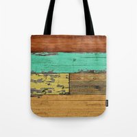 western Tote Bags featuring Lejano Western by Diego Tirigall