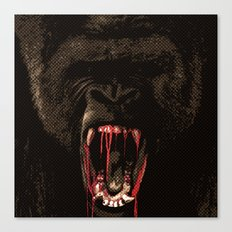 GORILLABLOOD Canvas Print