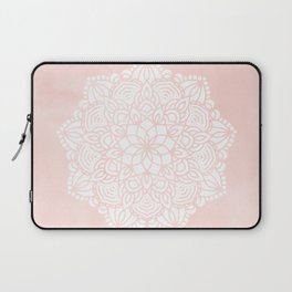 Mandala Mermaid Sea Pink by Nature Magick Laptop Sleeve