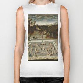 Lucas Cranach Der Jungbrunnen Fountain Of Youth Biker Tank