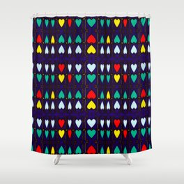 Heart Hugs Shower Curtain