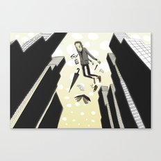 Sleepfloating Canvas Print