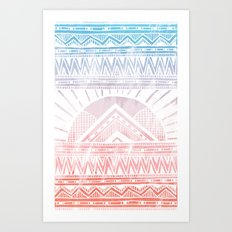 Surf Morning Art Print