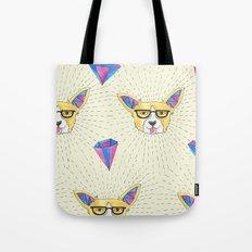 Quirky Corgi Tote Bag