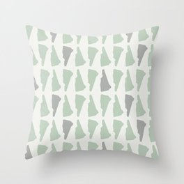 New Hampshire (Rustic) Throw Pillow