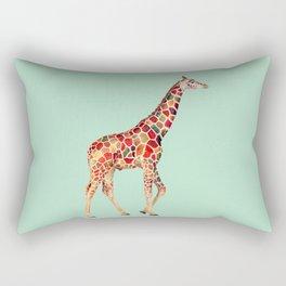 COLORED GIRAFFE Rectangular Pillow