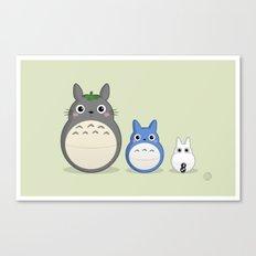 Totoroshka Canvas Print