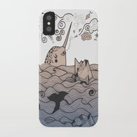 narwhal iPhone & iPod Cases featuring Narwhal by Judit Canela