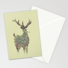 Beautiful Deer Old Stationery Cards