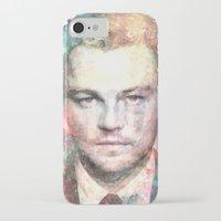 leonardo dicaprio iPhone & iPod Cases featuring Leonardo DiCaprio by Nechifor Ionut
