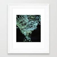geek Framed Art Prints featuring GEEK by taniavisual