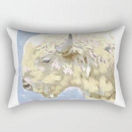 White buffalo calf Rectangular Pillow