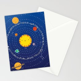 Sistema solar Stationery Cards