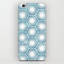 Watercolor daisy iPhone Skin