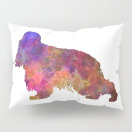 English Cocker Spaniel in watercolor Pillow Sham