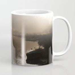 Foggy Morning in the Forest Coffee Mug