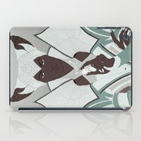 dragon age inquisition iPad Cases featuring Dragon Age: Vivienne by Couple Of Kooks