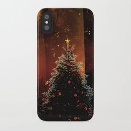 Christmas Faerie Dust iPhone Case