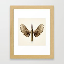 Caliber 30 Bird Framed Art Print