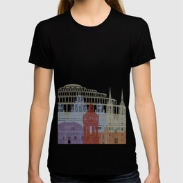Wroclaw skyline poster T-shirt