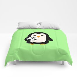 Soccer Penguin with ball T-Shirt Dg3ps Comforters