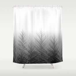 The Silent Florest Shower Curtain
