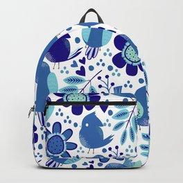 Nature with birds V2 Backpack