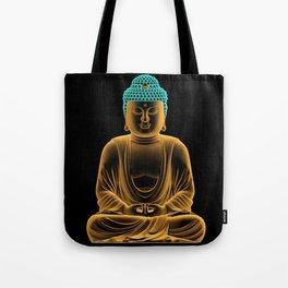 Buddha glow Tote Bag