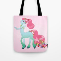 Mint Centaur Girl Tote Bag