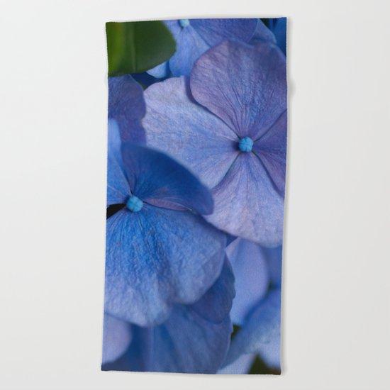 Blue Hydrangeas #2 # #art #society6 Beach Towel