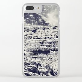 Out of Space Clear iPhone Case