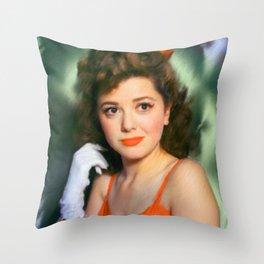 Ann Rutherford Throw Pillow