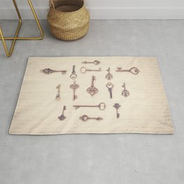 Keys to My Heart Rug