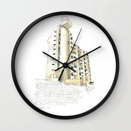 Hooper Street, Wellington Wall Clock
