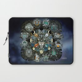 """Astrological Mechanism - Zodiac"" Laptop Sleeve"