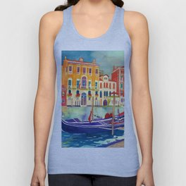 sunshine in Venezia Unisex Tank Top