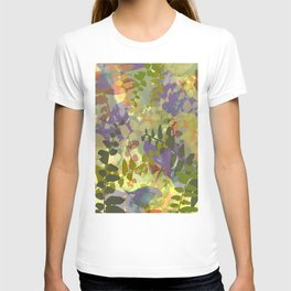 Green Butterfly Jungle T-shirt